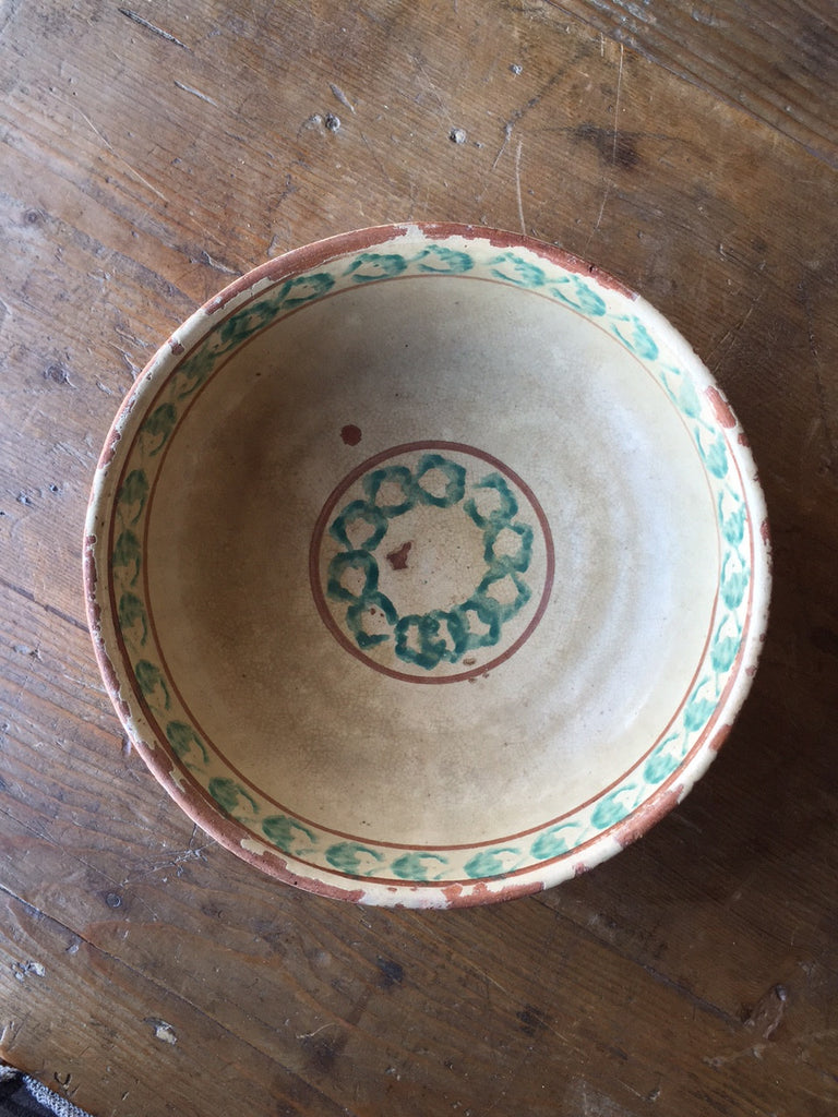 Antique Ceramic Bowl - Mercato Antiques - 1