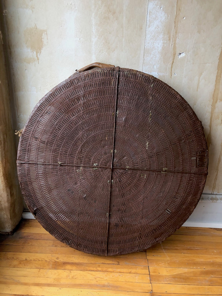 Antique Grain Sieve