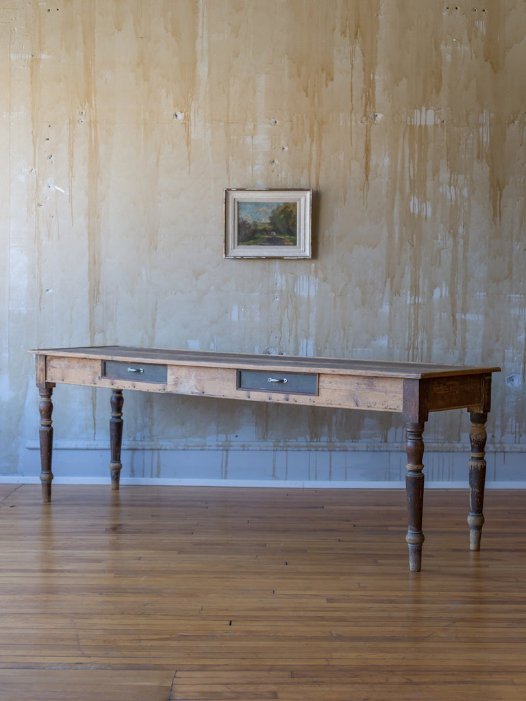 (SOLD) Rustic Italian Refectory Table