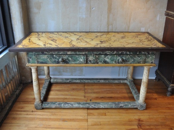 Hand Painted Italian Table - Mercato Antiques