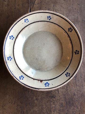 Antique Pugliese Ceramic Bowl