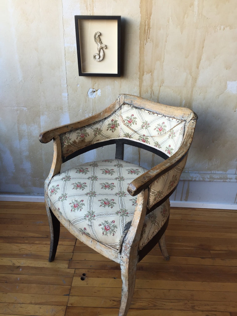 Italian Antique Arm Chair - Mercato Antiques - 1