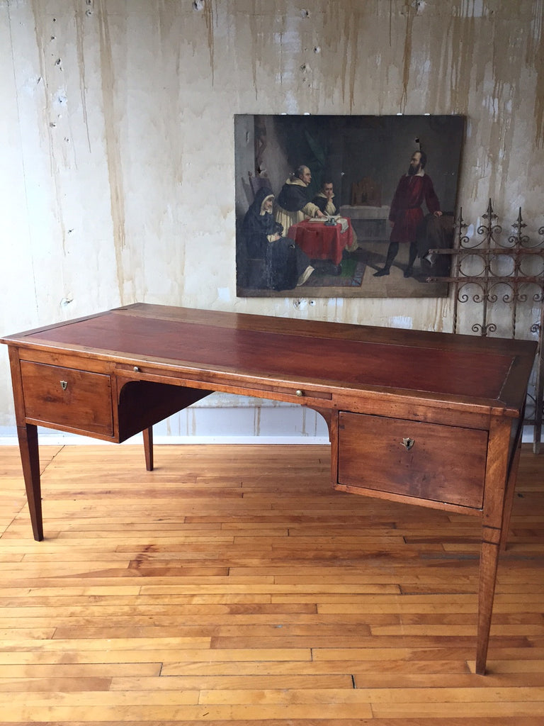 19th Century Italian Antique Desk (SOLD) - Mercato Antiques - 1