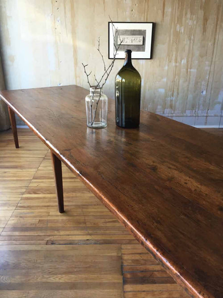Large Italian Antique Dining Table