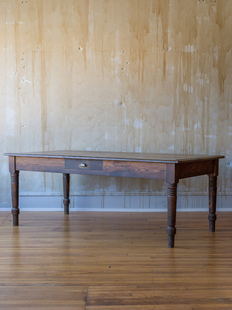 (SOLD) Italian Antique Dining Table-  Seats 6-8