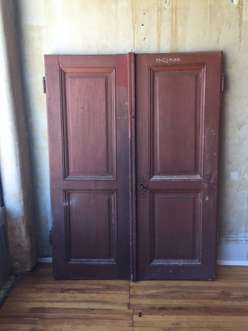 "Italian Antique Cellar Doors- 69""H"