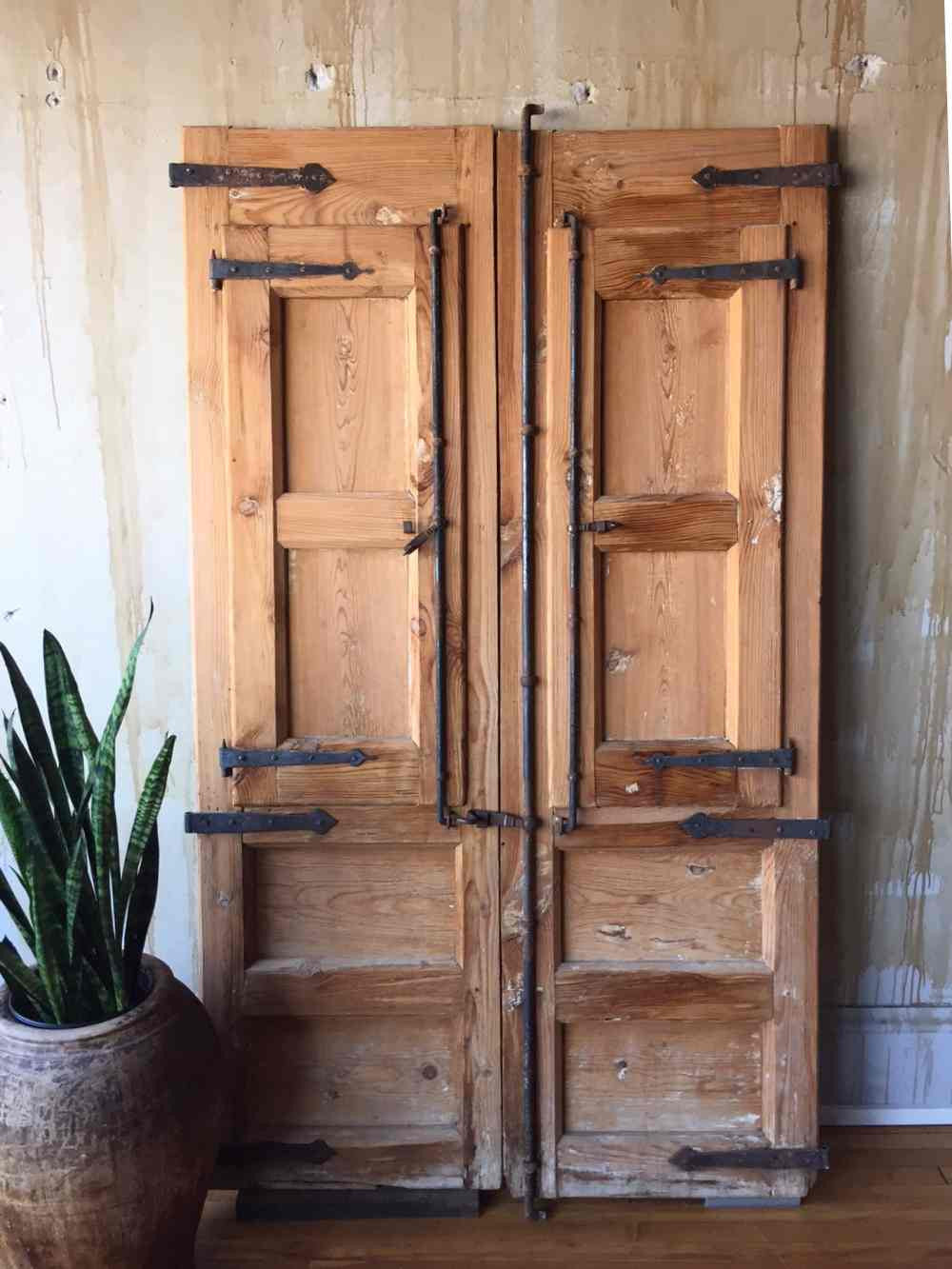 ... Spanish Antique Door Set (SOLD) - Mercato Antiques - 2 ... - Spanish Antique Door Set (SOLD)