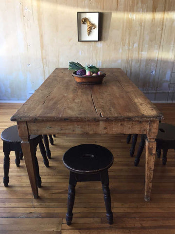 Tuscan Antique Dining Table - seats 10