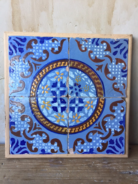Antique Italian Tiles - 19th Century - Mercato Antiques - 1