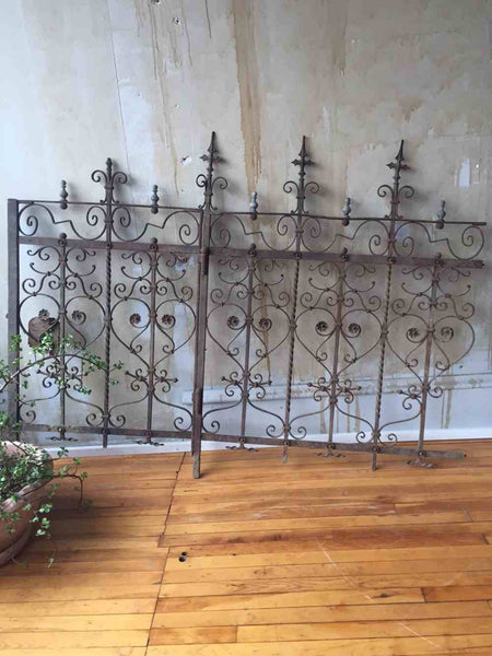 Tuscan Antique Gate and Fence Section - Mercato Antiques - 1
