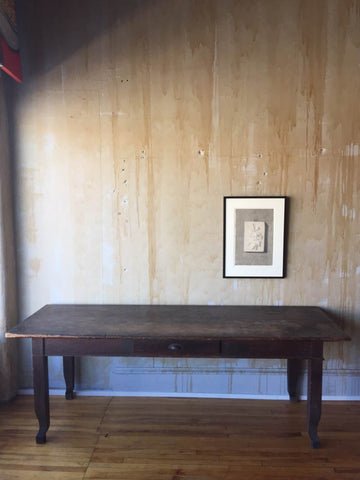 Italian Antique Dining Table - Seats 8