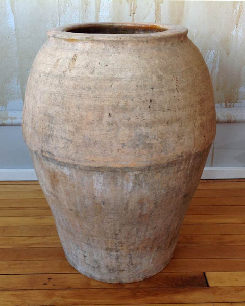 "Antique Terracotta Pot-Spain 22.5"" (SOLD) - Mercato Antiques - 1"