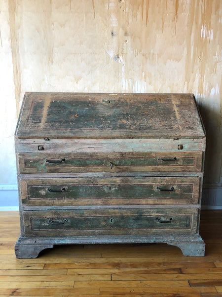 18th Century Italian Painted Desk