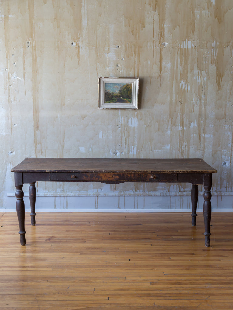 (SOLD) Rustic Umbrian Dining Table- Seats 6
