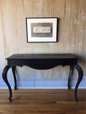 Ebonized Antique Console Table