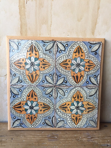 Antique Italian Tiles - 18th Century