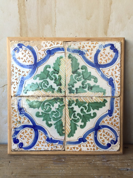 Italian Antique Tiles - 19th Century - Mercato Antiques - 1