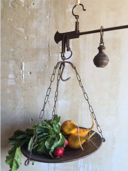 Tuscan Hanging Market Scale (SOLD)