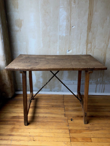 Walnut Antique Writing Table