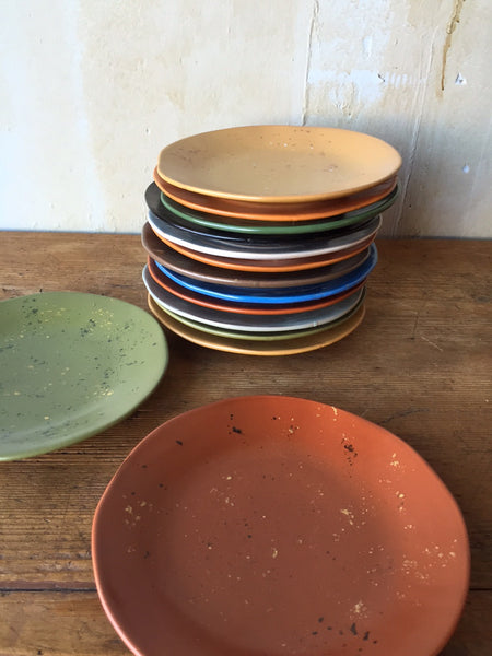 Colorful Appetizer and Salad Plates - Mercato Antiques - 1