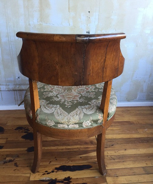 ... Italian Antique Walnut Chair- 3 Available - Mercato Antiques - 2 ... - Italian Antique Walnut Chair- 3 Available – Mercato Antiques