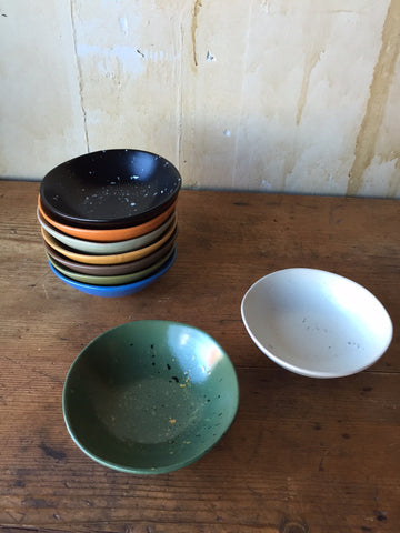 Colorful Condiment Bowls