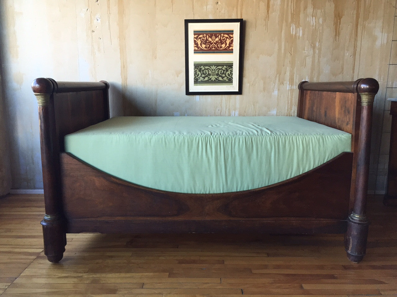 Antique French Empire Style Daybed