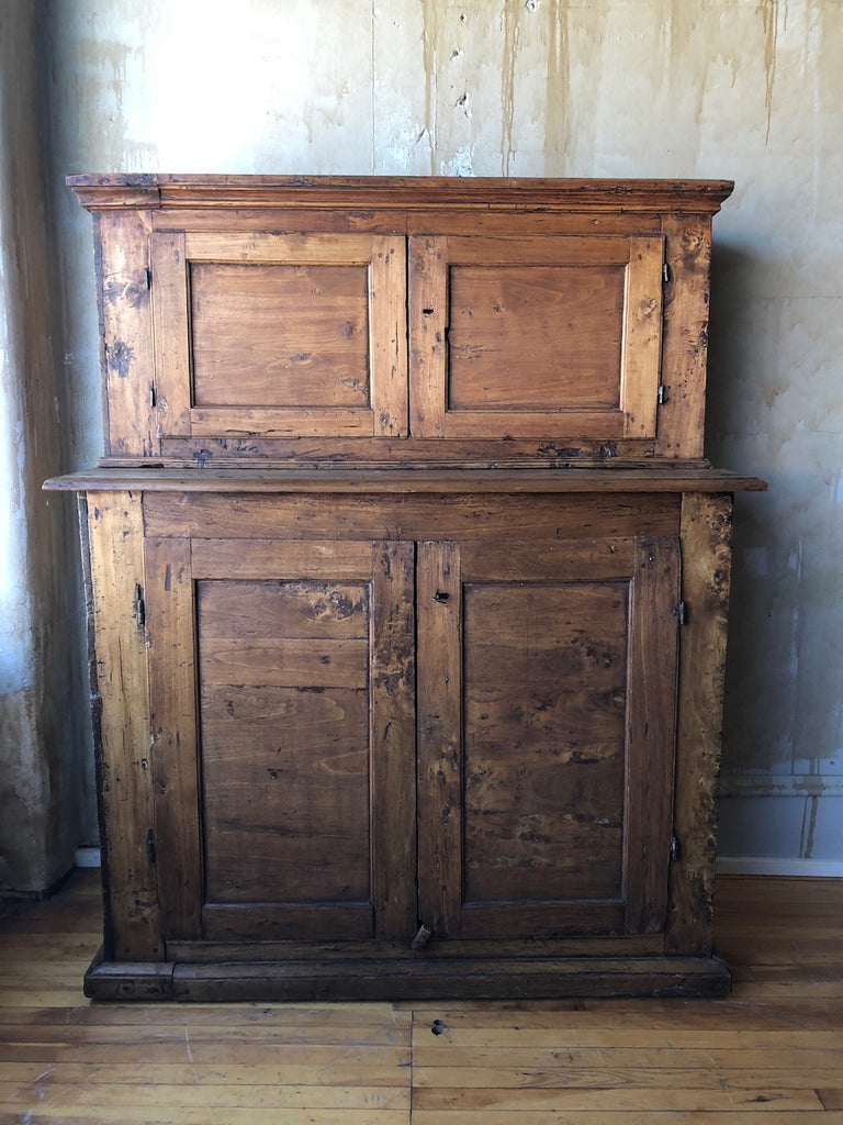 Italian Antique Sacristy Cabinet