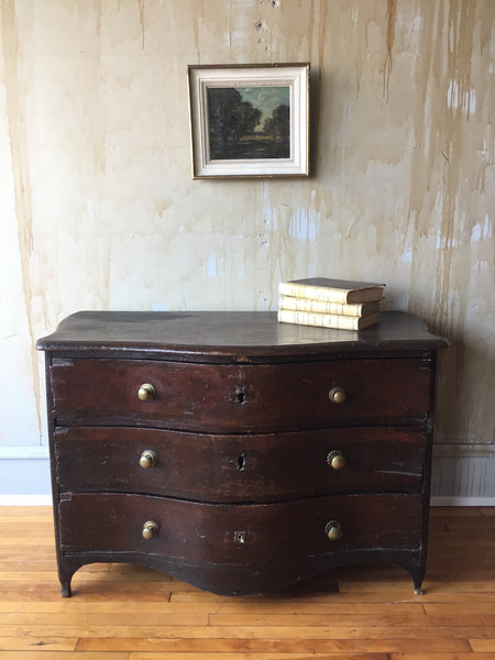 Rustic 18th Century Chest of Drawers
