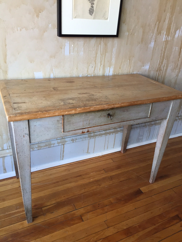 Small Italian Antique Desk (SOLD) - Mercato Antiques - 1