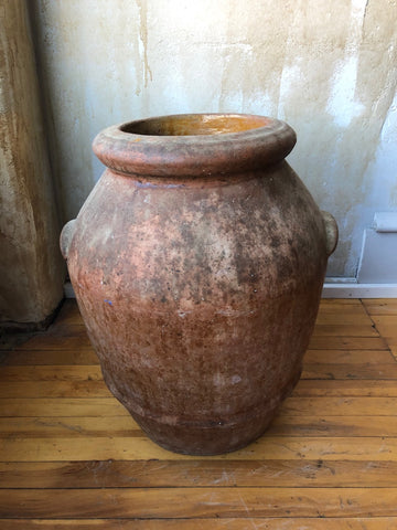 "Tuscan Terracotta Oil Jar- 22""H"