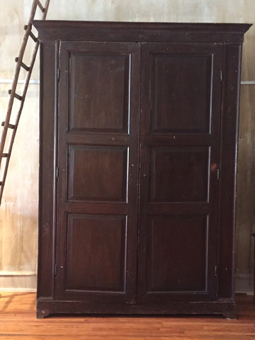 "Very Large Italian Antique Cabinet- 120""H"