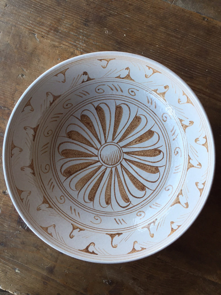 Graffita Large Serving Bowl - Mercato Antiques - 1