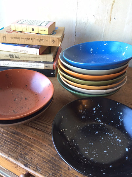 Colorful Pasta and Soup Bowls - Mercato Antiques - 1