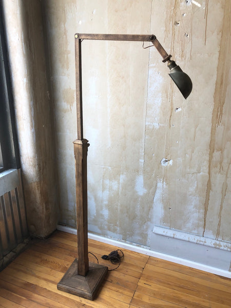 (SOLD) Italian VIntage Floor Lamp- Universita di Firenze