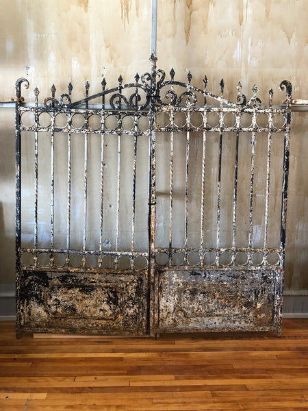 Italian Hand Forged Wrought Iron Gate