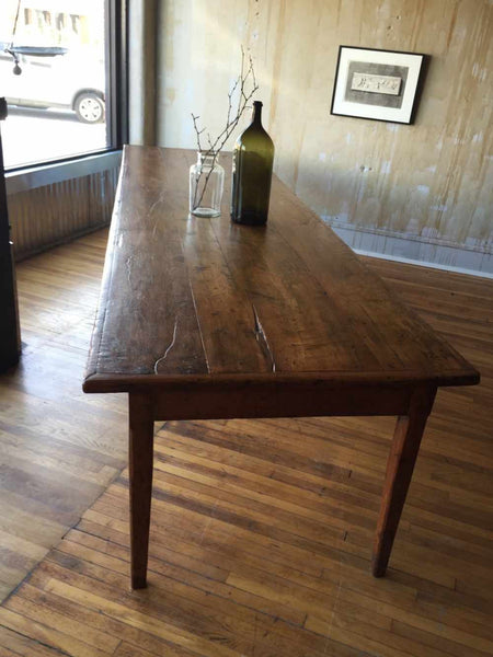 (SOLD) Large Italian Antique Dining Table