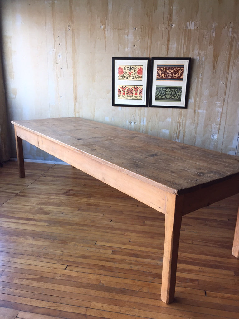 Long Tuscan Farm Table (SOLD) - Mercato Antiques - 1