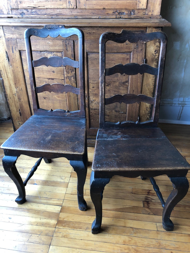 Pair of Italian Antique Chairs