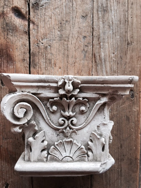 Vintage Italian Pilaster Capital - Mercato Antiques - 1