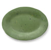 Verde Dark Green Serving Platter - Mercato Antiques - 2