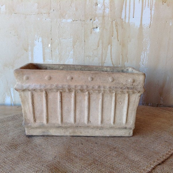 Small Terracotta Flower Planters - Mercato Antiques