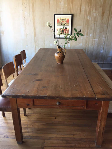 Antique Tuscan Dining Table from Siena - seats 10