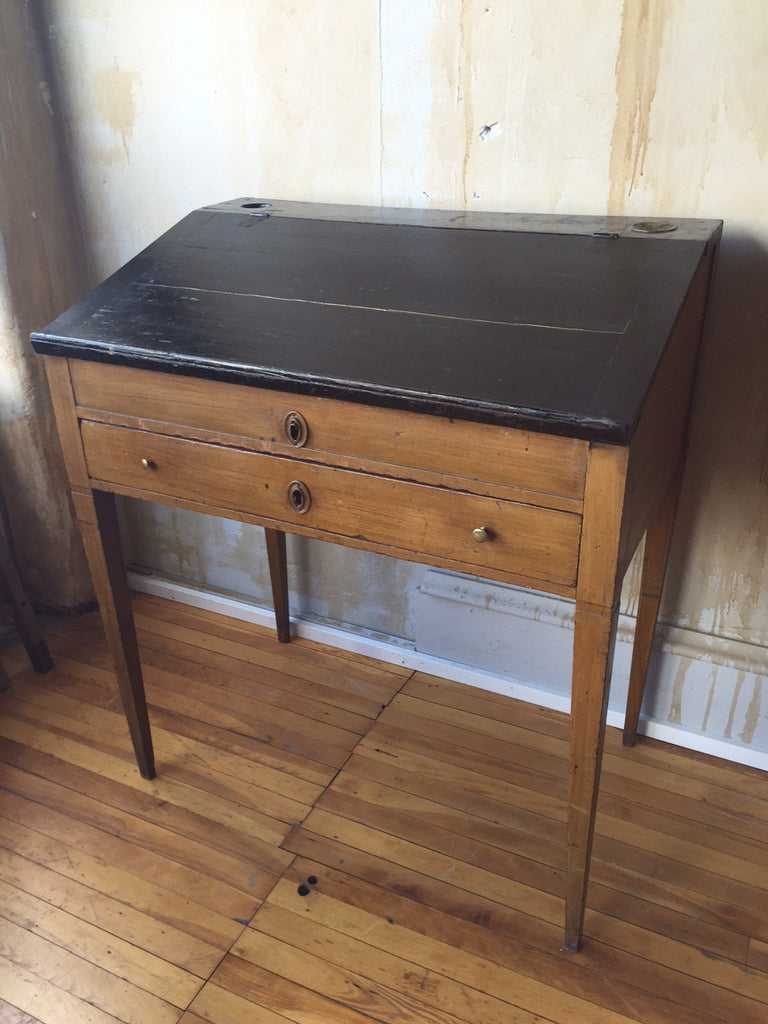 Small Italian Antique Writing Desk - Mercato Antiques - 1