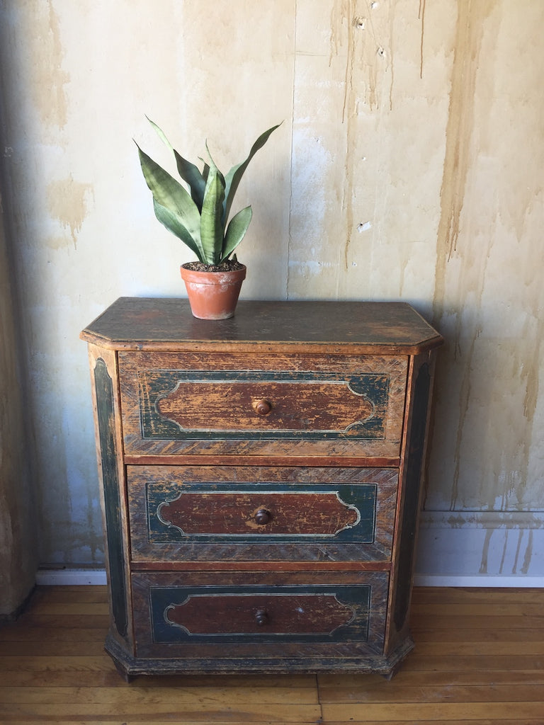 Small Arte Povera Chest of Drawers