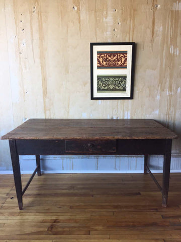 Small Tuscan Kitchen Farm Table  (can be used as a desk)
