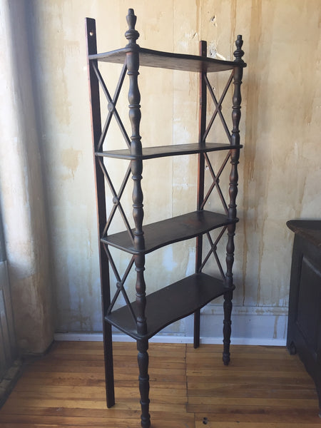 Tuscan Antique Etagere