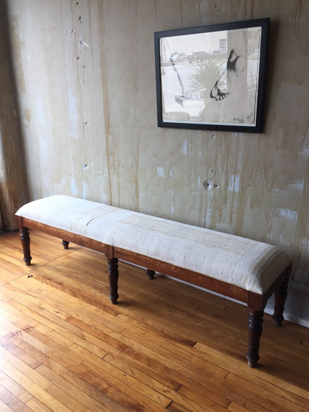 (SOLD) Tuscan Antique Bench