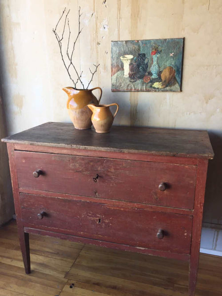 Tuscan Antique Chest Of Drawers