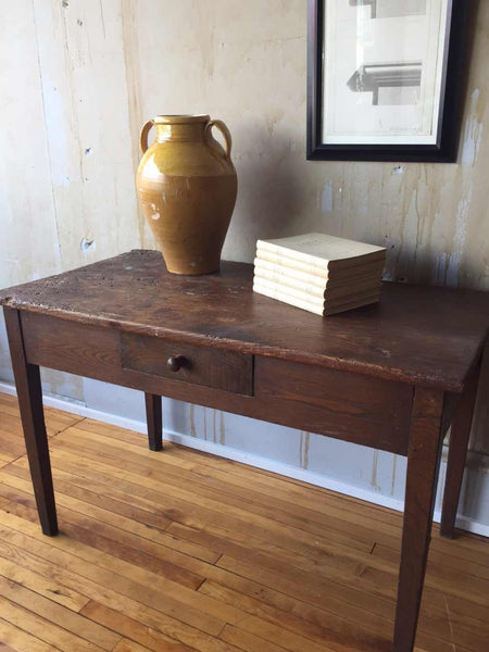 Butcher Block Workbench >> Tuscan Desk